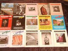 Fotographie Kultur Jetzt x33 issues 1977-1985 german art culture photo magazine