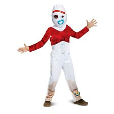 Disney Toy Story 4 Forky Child Halloween Costume XS 3t-4t Jumpsuit Mask