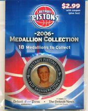 2006 DETROIT PISTONS MEDALLION COLLECTION FLIP SAUNDERS COACH