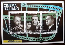 ITALY 2010  block stamped Cinema Italiano