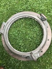Solid Brass Porthole Very Heavy 17 Inch Antique