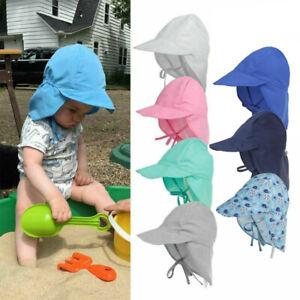 Kinder Baby Jungen Mädchen Legionnaire Cap UV-Schutz Sonnenhut Sommer Mütze Hut