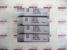 4X PISTON RINGS SET, FITS MERCEDES (W201/W124) 2.0D 8V,OM601.911/OM601.912, STD