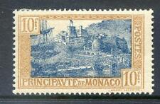 Monaco 1925 10f Blue & Brown mint  (2017/05/24#02)