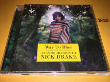 NICK DRAKE cd 16 HITS way to blue RIVER MAN northern sky PINK MOON poor boy