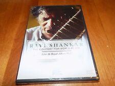 RAVI SHANKAR Live Concert Royal Albert Hall India Indian Music A&E DVD NEW