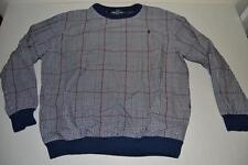 POLO GOLF RALPH LAUREN NAVY BLUE RED PLAID WIND JACKET MENS SIZE LARGE L