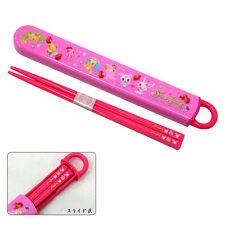 Sanrio Jewelpet strawberry Japan Chopsticks And Kawaii Case Lunch Bento SKATER !