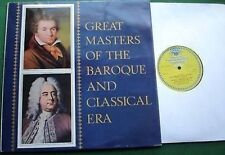 Grands Maîtres du baroque DG/Archiv label LP