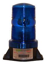 B1L120 110V 120V BLUE LED NON-FLASHING STEADY-ON WARNING LIGHT SMALL BEACON