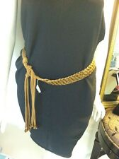 "Beaded Belt Brown Beads The Length Is 50"" From One End To The Other End"