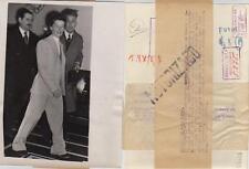 Año 1952. Katharine Hepburn. Fotografía. La artista a Southampton (Inglaterra).