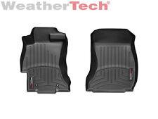 WeatherTech FloorLiner - Subaru XV Crosstrek - 2013-2015 - 1st Row - Black