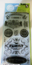 Inkadinkado Clear Stamps - Vintage Expressions (60-30381)  #528