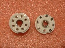 4 pcs. 8-pin PCB-mount Loctal tube socket