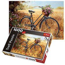 TREFL 1000 pezzi adulto grande bicicletta AUTUNNO CAMPO pavimento Puzzle NUOVO