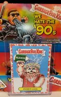 Garbage pail kids We Hate The 90's Bloody Nose Red (PERRY-oxide 7b 34/75) 2019