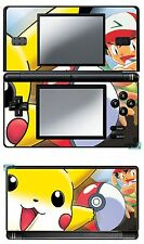 SKIN DECAL STICKER DECO FOR NINTENDO DS LITE REF 13 POKEMON