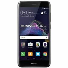 "HUAWEI P8 LITE 2017 5.2"" 16GB 4G LTE BLACK ITALIA GARAN 24 BRAND+ PELLICOLA VETR"