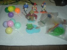 GUYS SPORTS NUT FISHING,GOLF,BASEBALL,BIRTHDAY BALLOONS CAKE TOPPERS