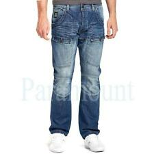 Crosshatch Faded Cotton Big & Tall Size Jeans for Men