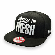 NEW ERA SORRY I'M FRESH 9FIFTY BLACK SNAPBACK CAP