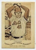 2014 Topps Gypsy Queen TOM SEAVER Rare INSERT CARD #N174-TS New York Mets HOF