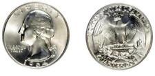 AMERICA SILVER QUARTER DOLLAR GEORGE WASHINGTON 1964 P FIOR DI CONIO