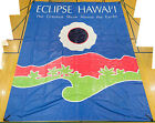 Total Solar Eclipse Banner - Hawaii 1991 - The rare unusual astronomical event