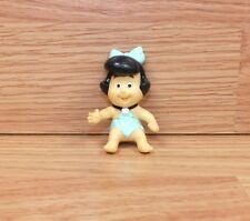 Genuine Hanna Barbera Vintage (1989) Baby Betty Rubble In Signature Blue Dress
