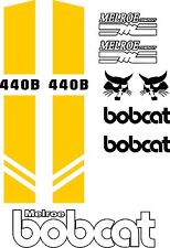 440B repro decals / decal kit / sticker set US seller Free shipping fits bobcat