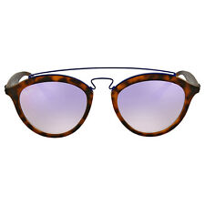 Ray Ban Gatsby II Round Lilac Gradient Mirror Sunglasses