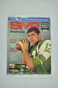 SMR PSA Magazine May 2012 Joe Namath New York Jets New In Bag