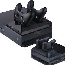 Game Accessories Dual Controller Charging Dock + Cooling Fan for Xbox One