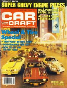 CAR CRAFT MAY 1980-427CI ANGLIA/POP-CRUISING LAS VEGAS-DRAGSTER WINTER NATIONALS