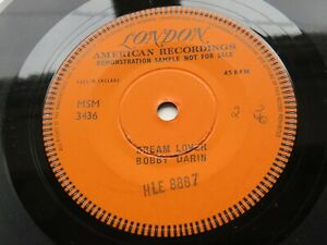 BOBBY DARIN 1958  1 SIDED LONDON DEMO  DREAM LOVER