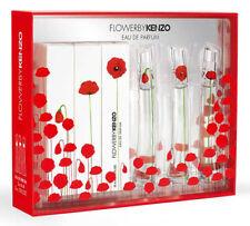 Flower by KENZO Eau de Parfum Miniature Perfume Gift Set 3 x 4ml / 3 x 0.13 oz