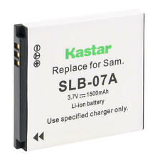 Kastar SLB-07A Battery for SAMSUNG ST560  ST600 TL100 TL210 TL220 TL225 TL90