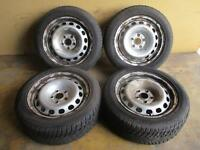 Stahlfelgen Winterreifen 205 55 R16 Audi A4 A6 A8 7x16 ET42 4D0601025 5x112