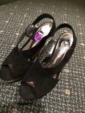 Carlos By Carlos Santana Womens Shoes Cork Wedge Size  6 1/2