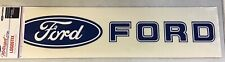 FORD MOTORSPORT LARGE FORD & LOGO DECAL/STICKER 24 INCHES WIDE NEW