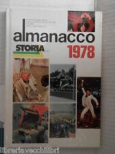 ALMANACCO DI STORIA 1978 Mondadori 1978 libro di storia contemporanea saggistica