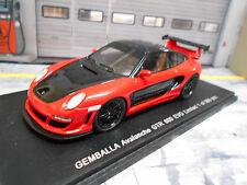 PORSCHE 911 997 Gemballa Avalanche GTR 600 EVO red rot 1/500 lim Spark RAR 1:43