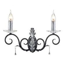 Lampade da parete da interno Elstead argento E14
