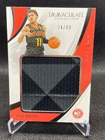 2018-19 Trae Young Panini Immaculate Rookie RC Remarkable Jersey 24/99 🔥🔥🔥