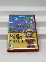 Super Mario Maker (Nintendo Wii U, 2015) Video Game