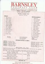 Away Teams S-Z Division 1 Football Programmes with Reserves