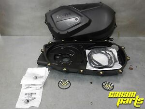 Can Am Outlander Renegade CVT Clutch Belt Cover and Back Plate Update Kit