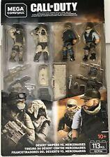 DESERT SNIPERS VS MERCENARIES Troop Pack Mega Construx Call of Duty GCP06