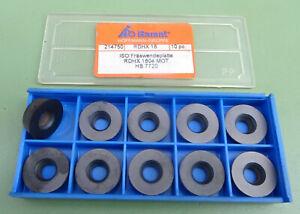 10 GARANT RDHX 1604 Rundplatten Fräsplatten Wendeplatten Wendeschneidplatten WSP